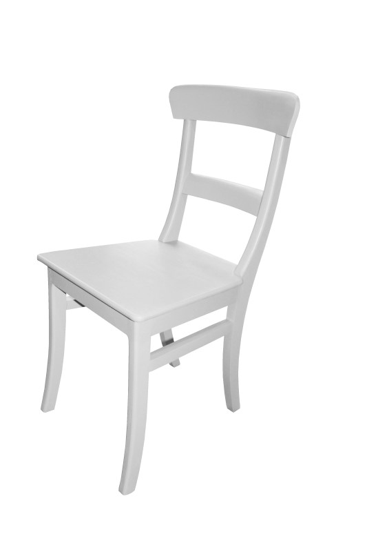 Chair Pub Kudus   White   Mahogany