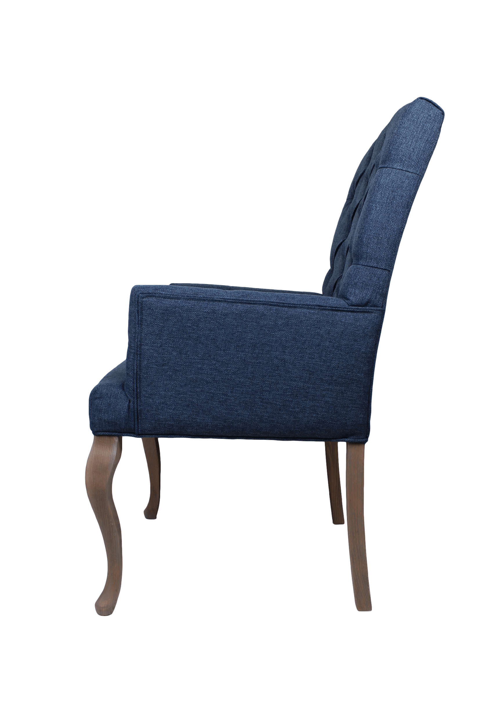 ... Dining Chair With Arm Brighton   Dark Blue ...