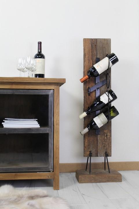 4 Bottle rack with stand - railwood
