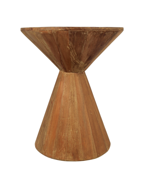 Side Table Hourgl Recycled Wood Coffee Tables