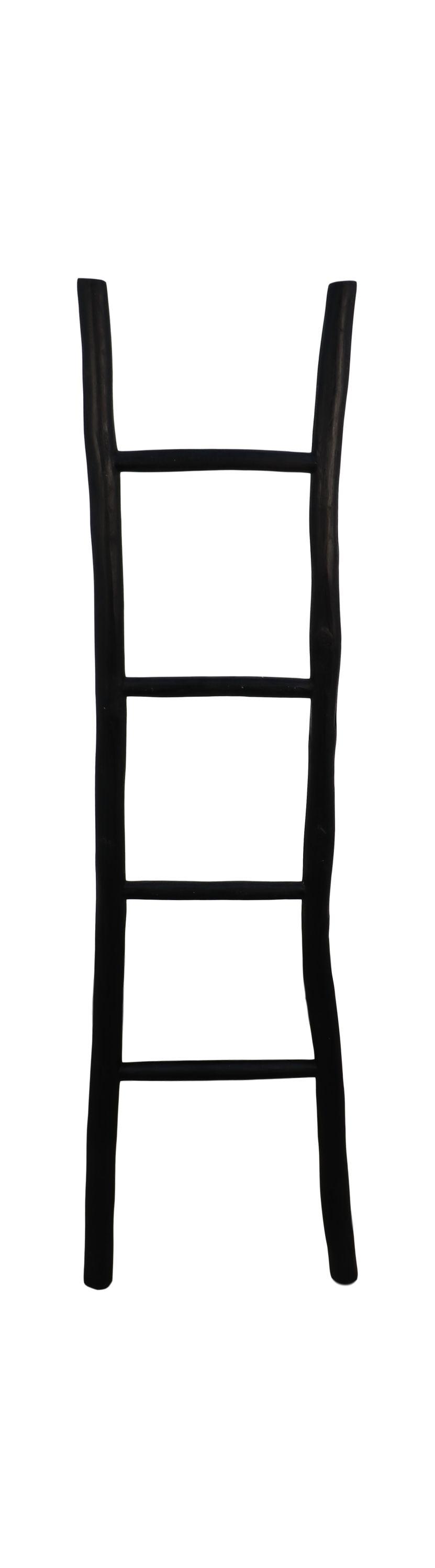 Decorative ladder black