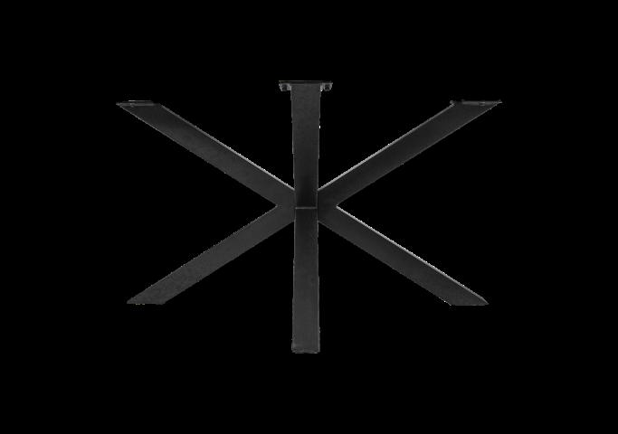 gestell 3d modell pulverbeschichtet schwarz metall tischbeine untergestelle henk. Black Bedroom Furniture Sets. Home Design Ideas