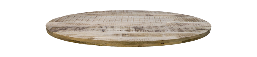 Oval table top Portland - 200x100 cm - mango wood