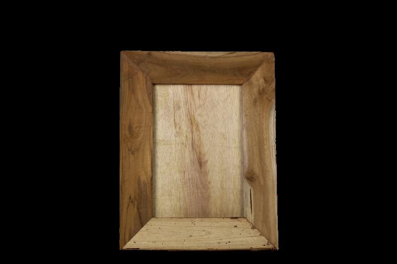 Natural Living Meubelen : Photo frame pigura natural teak decoration & hides henk