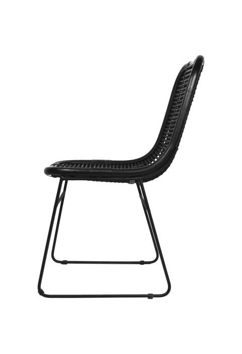 ... Dining Chair   Black   Rattan ...