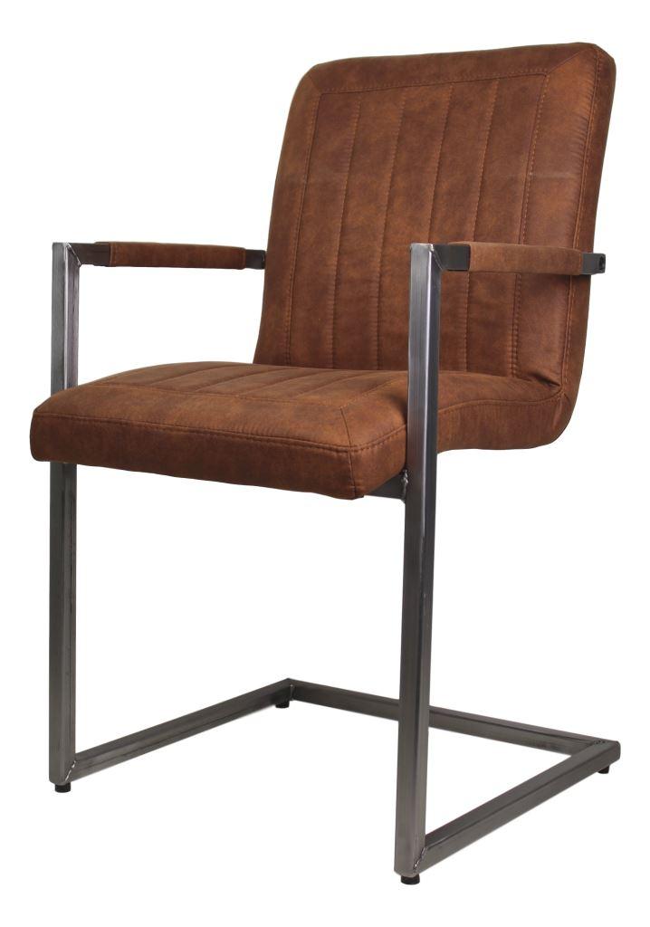 armlehnstuhl dallas cognac st hlen sofas henk schram meubelen. Black Bedroom Furniture Sets. Home Design Ideas