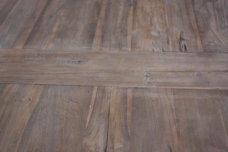 Tafel Dingklik Koplat - 140x80 cm - blank - teak