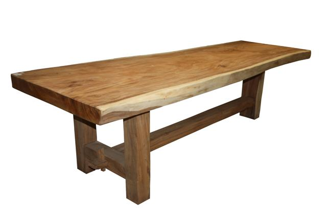 Table heavy 300x80 cm munggur tables tabletops henk schram meubelen - Tafel tv vintage ...