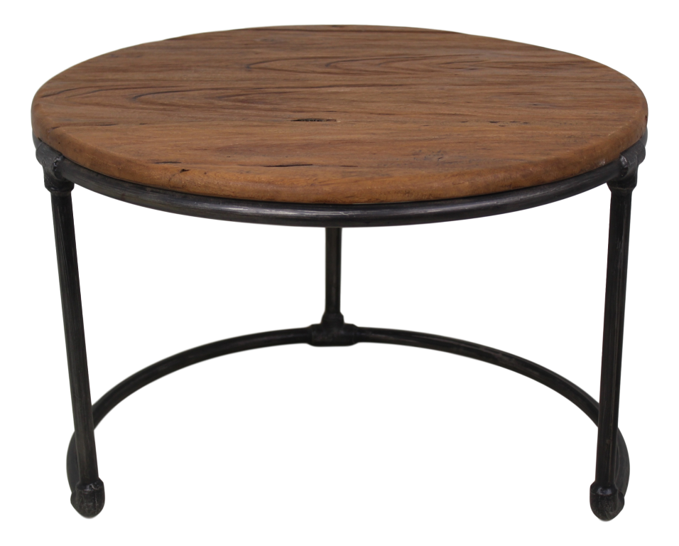 beistelltisch vintage 60x60 cm vintage eisen metall couchtischen beistelltischen. Black Bedroom Furniture Sets. Home Design Ideas