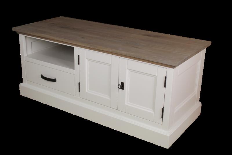 tv kommode provence grau eiche weiss kommoden tv kommoden henk schram meubelen. Black Bedroom Furniture Sets. Home Design Ideas