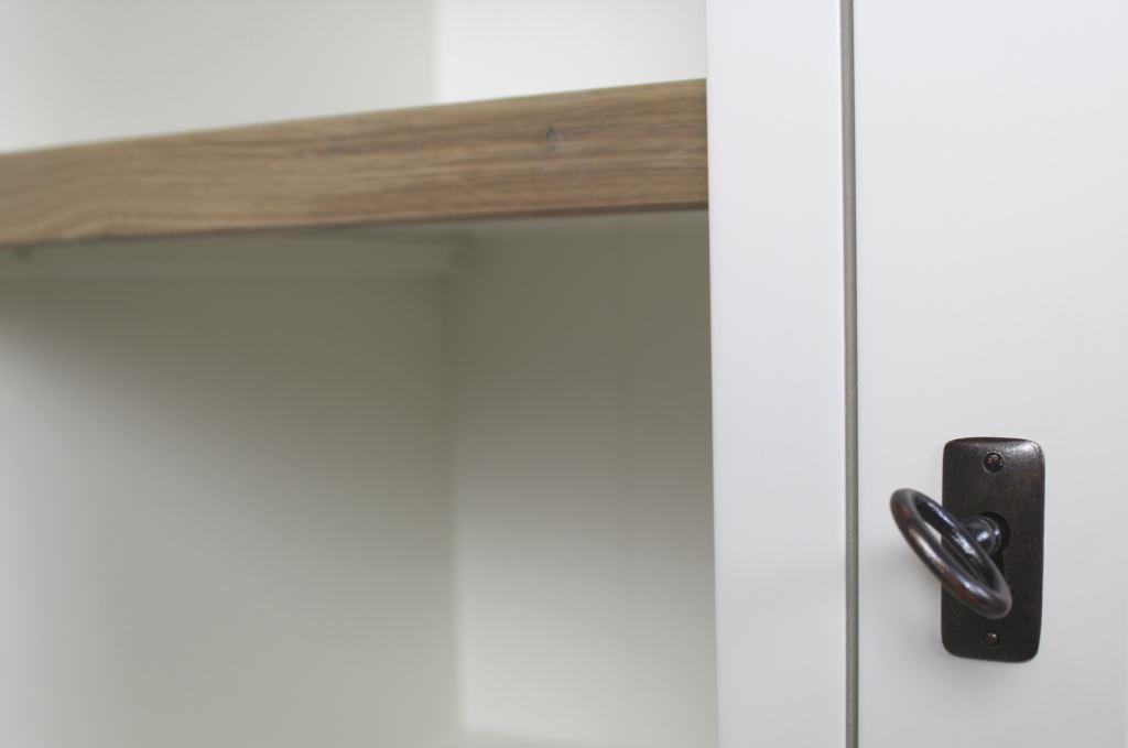 Grijs Eiken Kast : Highboard provence grijs eiken wit kasten henk schram meubelen