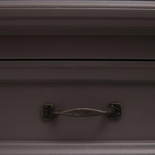 Buffetkast - 150 cm - murano grijs/wit