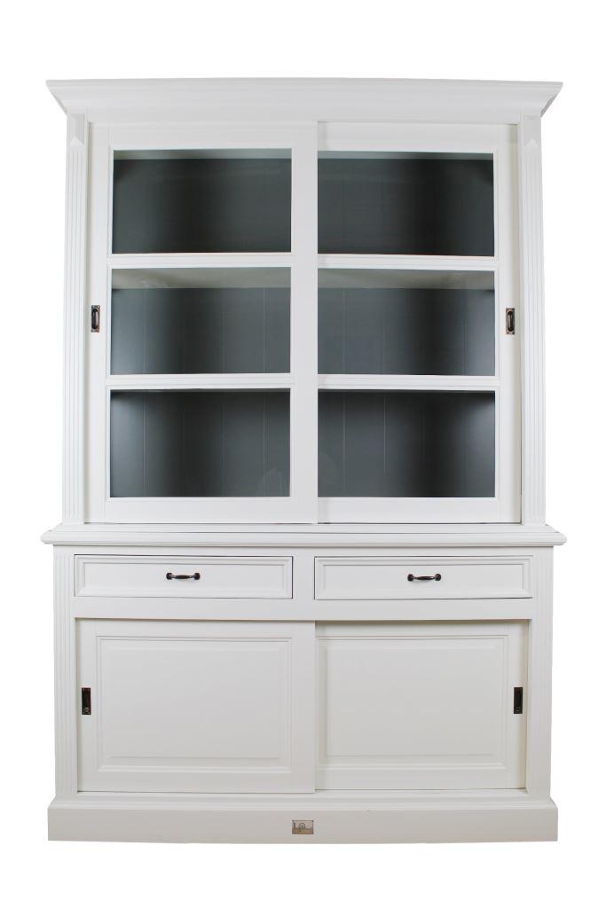 buffetschrank 150 cm wei murano grau schranken. Black Bedroom Furniture Sets. Home Design Ideas
