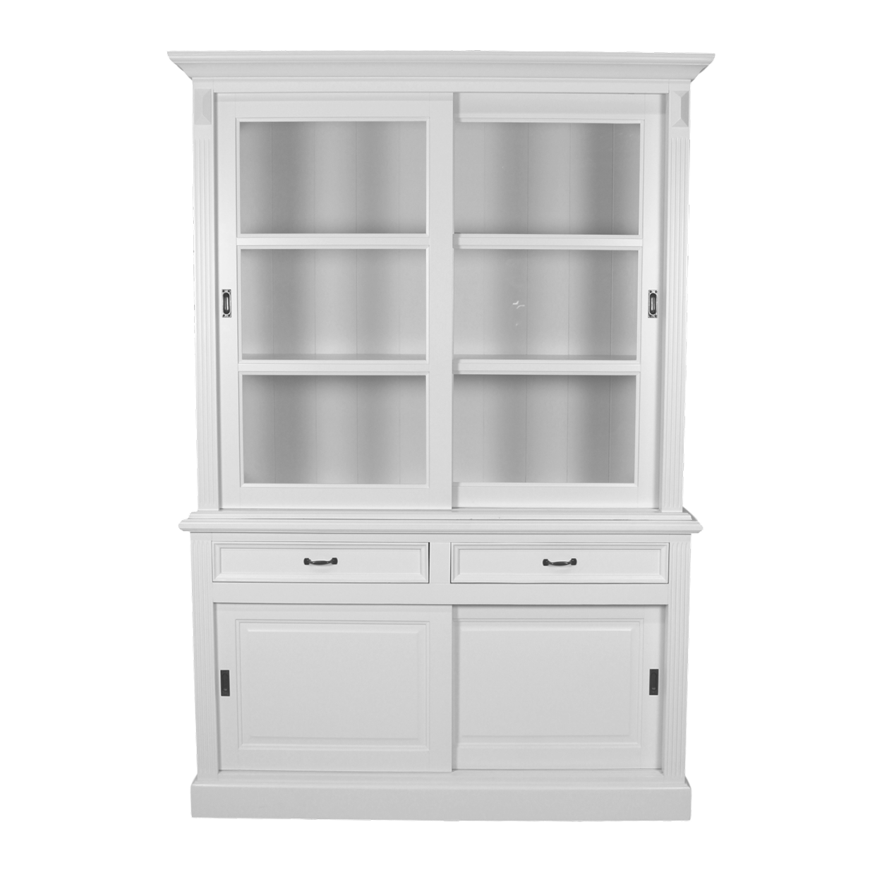 buffetschrank mit soft close schublade weiss schranken henk schram meubelen. Black Bedroom Furniture Sets. Home Design Ideas