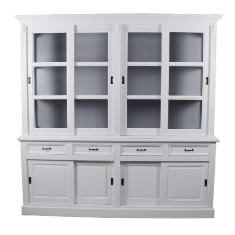 buffetschrank 220 cm wei grau schranken henk. Black Bedroom Furniture Sets. Home Design Ideas
