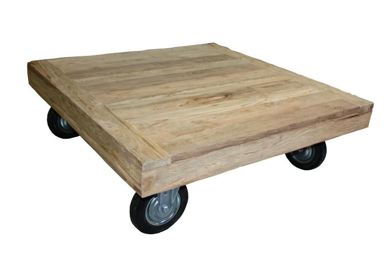 10x Ronde Salontafel : Houten salontafel op wielen bub agneswamu