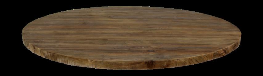 Teak Tafel Rond 150.Tafelblad Rond O150 Cm Vintage Teak Tafels Tafelbladen