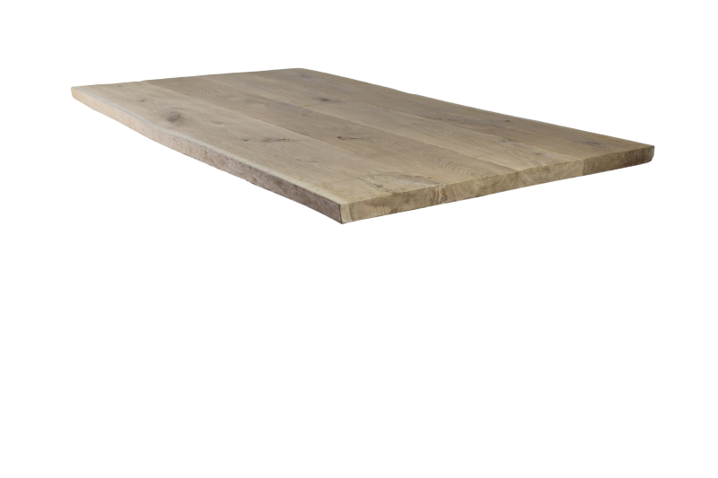 Tafelblad Boomtafel - 200x100 cm - mix/match - massief eiken