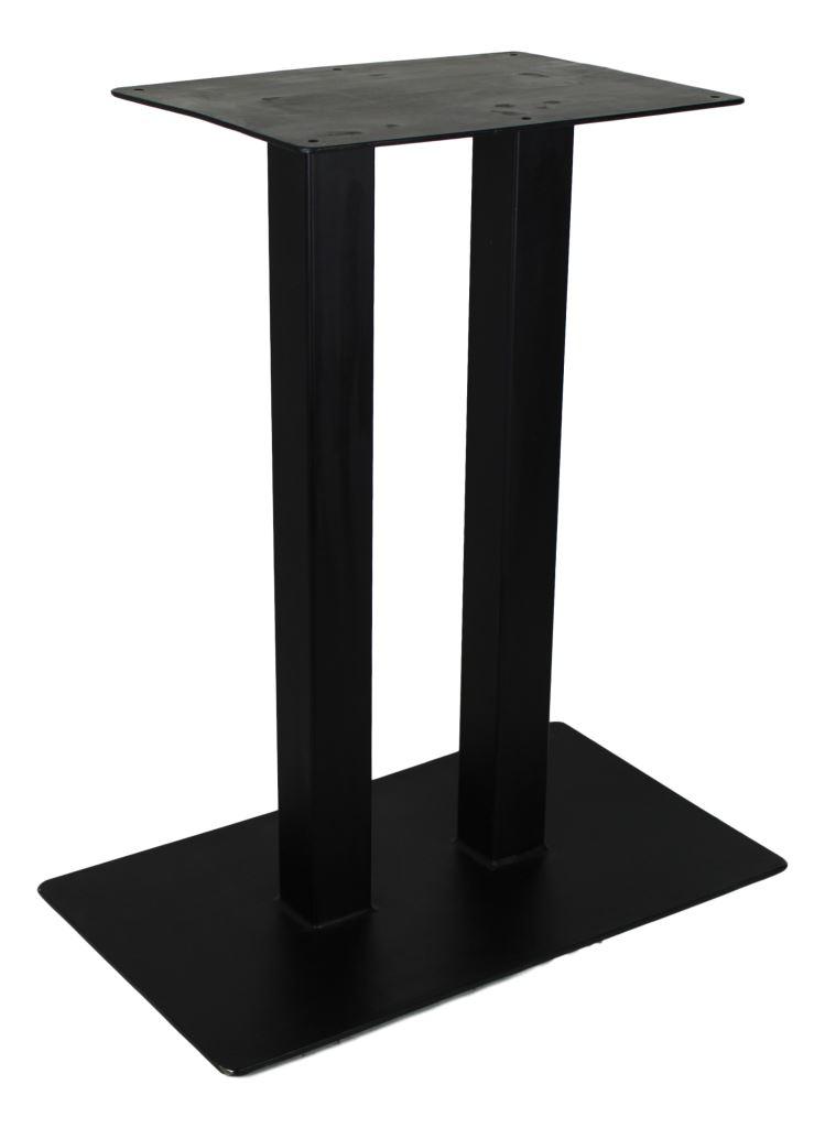 gestell f r konsolentisch pulverbeschichtet schwarz. Black Bedroom Furniture Sets. Home Design Ideas