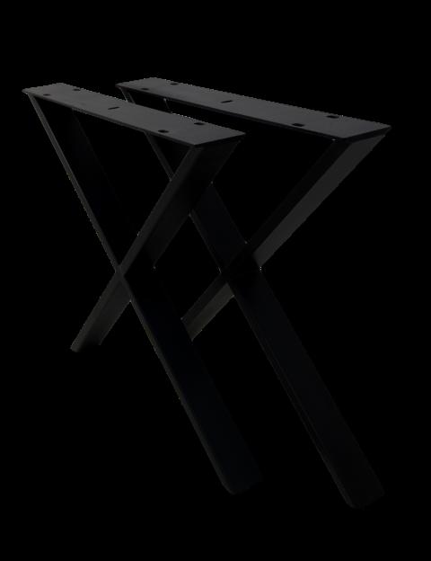 Ongebruikt X Tafelpoten. Excellent H Of X Metalen Tafelpoten With X OI-77