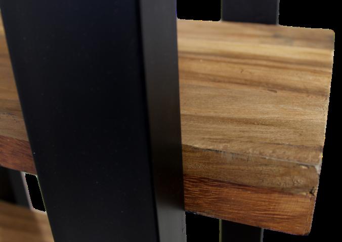 b cherregal recycelt holz eisen schranken henk schram meubelen. Black Bedroom Furniture Sets. Home Design Ideas