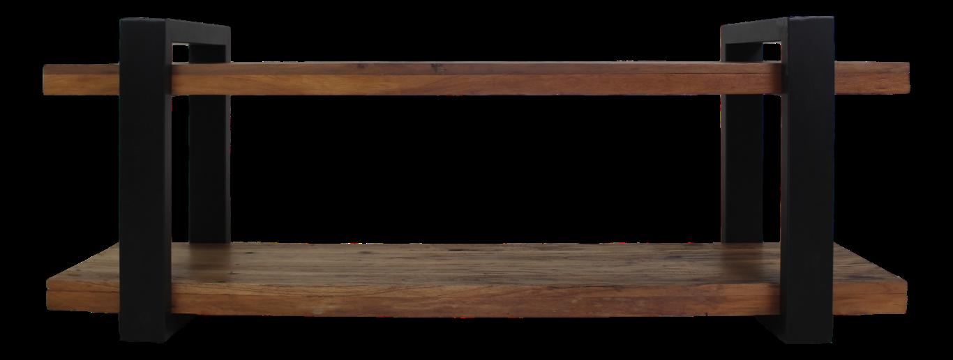 Tv Kommode Vintage Schwarz Recycelt Java Holz Eisen Kommoden