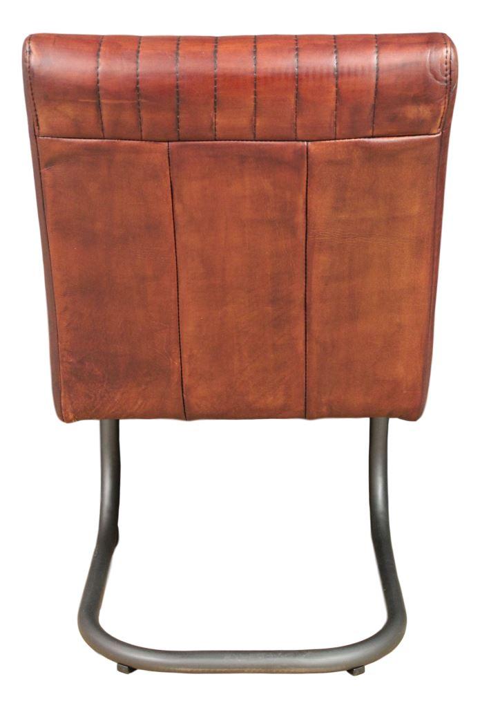 ... Chair Nevada   Buffalo Cognac   Metal/buffalo Leather