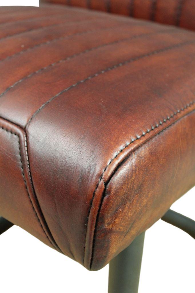 ... Chair Nevada   Buffalo Cognac   Metal/buffalo Leather ...