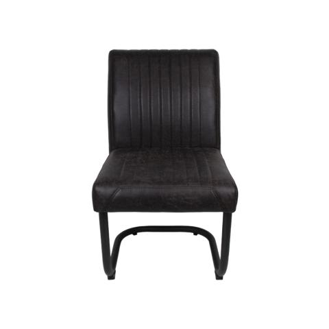 esszimmerstuhl nevada yacht espresso metall yachtleder st hlen sofas henk schram meubelen. Black Bedroom Furniture Sets. Home Design Ideas