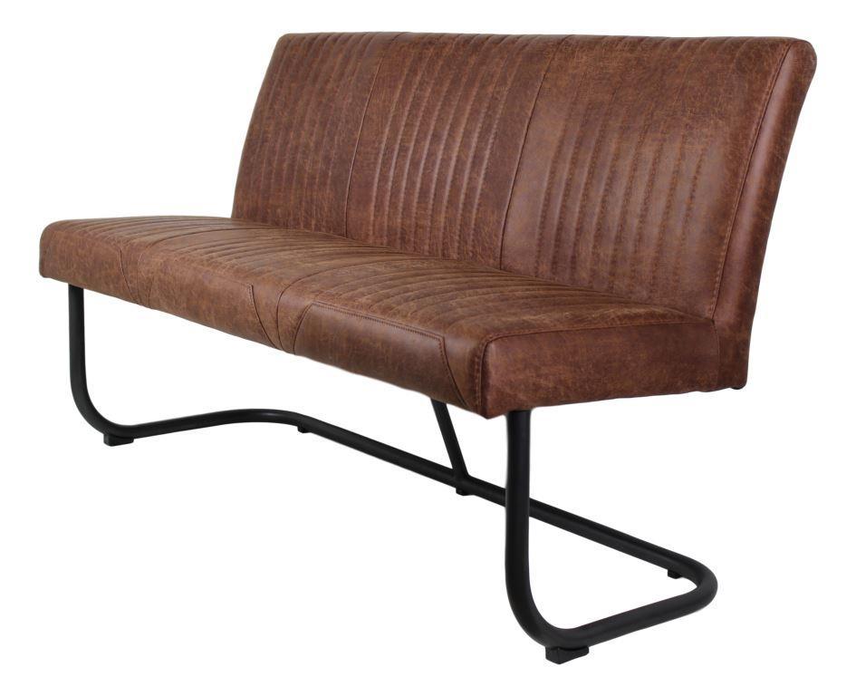 esstischbank nevada yacht cognac metall yachtleder st hlen sofas henk schram meubelen. Black Bedroom Furniture Sets. Home Design Ideas