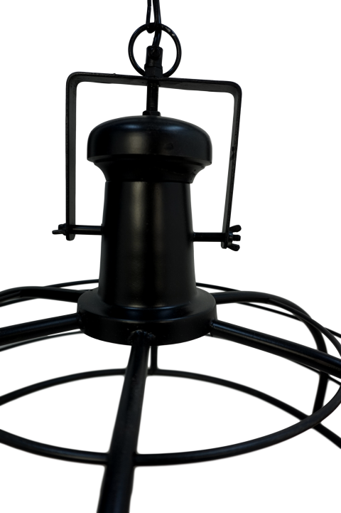 Hanglamp Crown - ø60 cm - powder coated black