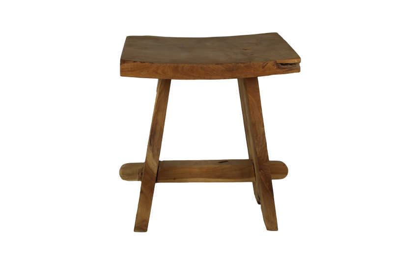 Stool buffallo natural teak small furniture pieces stools
