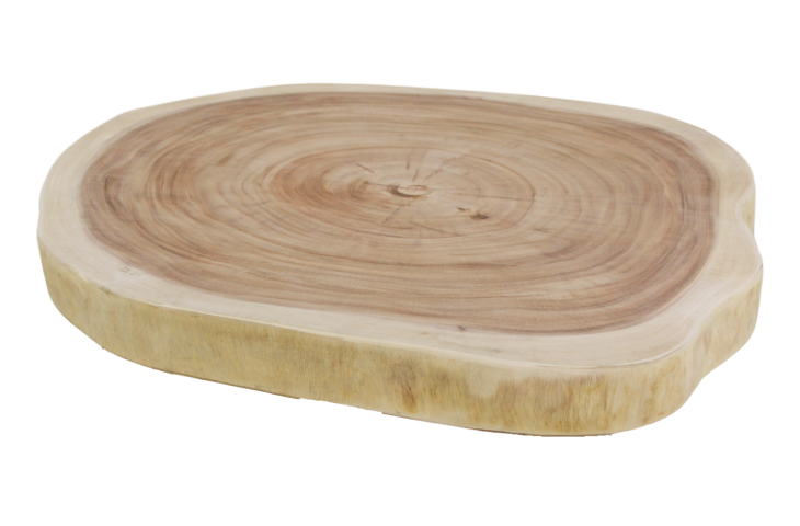 Oval table top - 120x80 cm - munggur