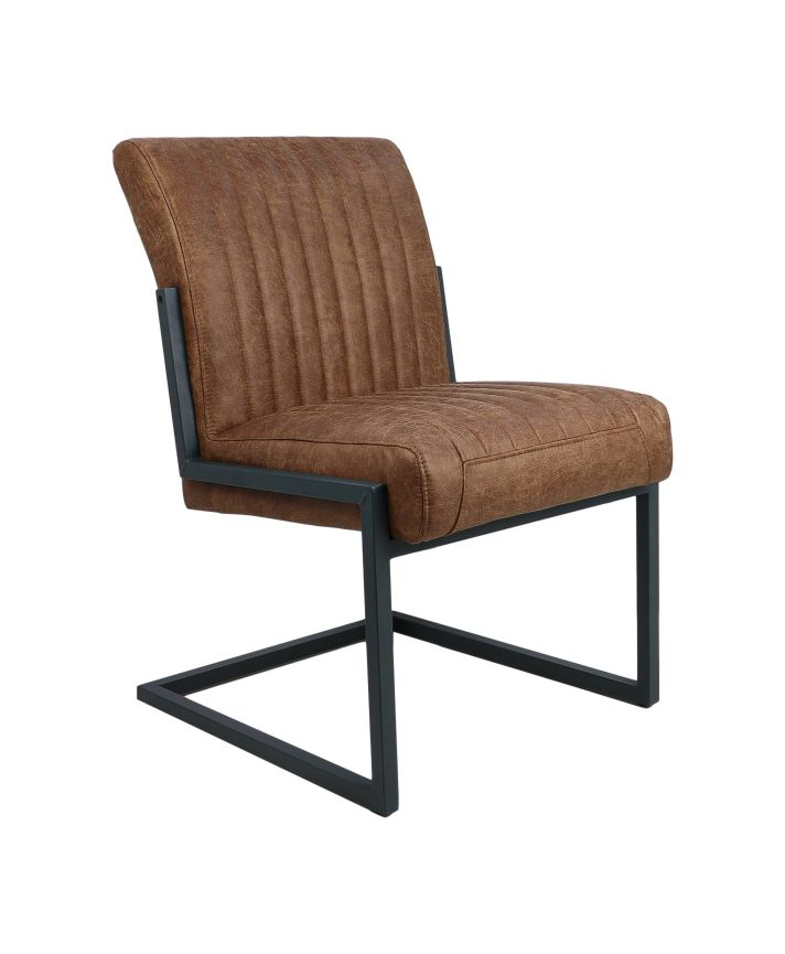 esszimmerstuhl texas cognac metall yachtleder st hlen sofas henk schram meubelen. Black Bedroom Furniture Sets. Home Design Ideas