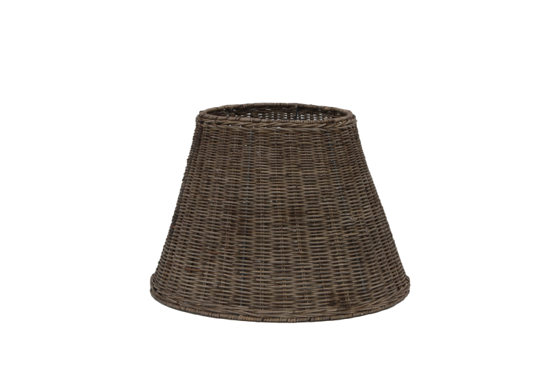 Lamp Shade For Table Slimit Grey Rattan